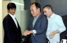 """'벤투 만난' 김학범 감독 """"고무적인 자리..전폭적인 지원 약속"""""""