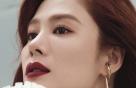"""김현주, 매혹적인 버건디빛 입술…""""독보적인 아우라"""""""