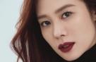 """김현주, 시스루 패션+버건디 립…""""매혹적인 가을 여신"""""""