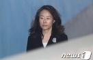'문화계 블랙리스트' 조윤선, 구속 만료로 22일 새벽 석방