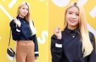 구구단 나영, 차분한 가을 패션…컬러 조합 '완벽'