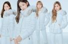 블랙핑크, 패딩 화보 공개…'올 화이트' 완벽 소화