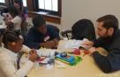 현대모비스, 미국서 첫 '주니어 공학교실' 진행