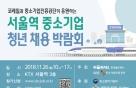 코레일, '중소기업 청년 채용박람회' 개최…26일 서울역