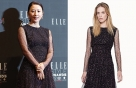 김희애 vs 모델, 은하수 같은 블랙 드레스…어디 거?