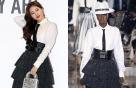"""수지 vs 모델, '디올' 레이디 룩…""""부츠 하나로 색다르게"""""""