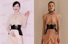 설리 vs 모델, '알렉산더 맥퀸' 드레스
