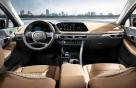 [사진]현대차 신형 쏘나타, '스텔스기'서 영감받은 실내
