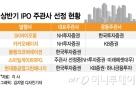 상반기 IPO '빅딜' 주관 경쟁 NH·한투 '2파전'