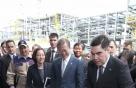 """文 세일즈 외교에 투르크멘 대통령 """"두번째 공장도 짓자"""""""