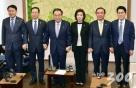 """4월에도 '닫힌 국회'…黃 """"金 대변인"""" 발언에 與 """"색깔론"""""""