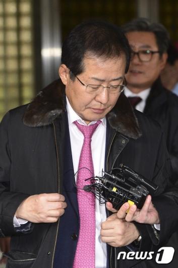 [사진]홍준표 지사 '1심 뒤집고 항소심 무죄 선고'