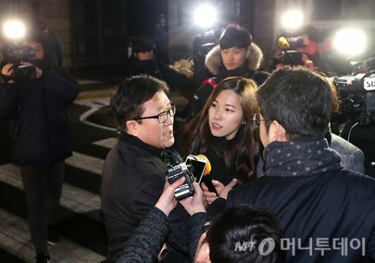 [사진]구치소 나서는 박상진, 이재용 부회장은 구속