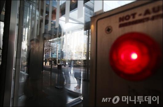 [사진]'이재용 구속' 빨간불 켜진 삼성