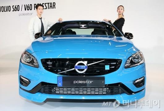 [사진]볼보 고성능모델 'S60 & V60 폴스타' 출시
