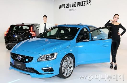 [사진]볼보 'S60 & V60 폴스타' 출시