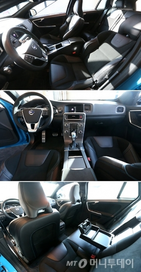 [사진]볼보 S60 & V60 폴스타 실내공간