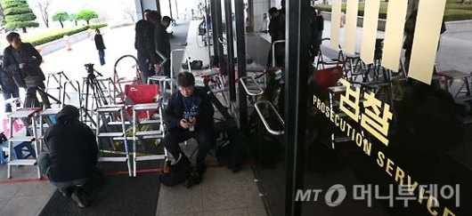 [사진]박 전 대통령 소환 D-1