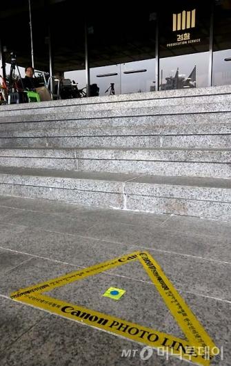 [사진]박 전 대통령 소환 하루 앞둔 검찰