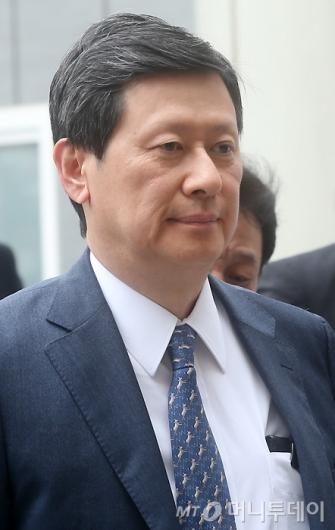 [사진]입 다문 신동주 회장