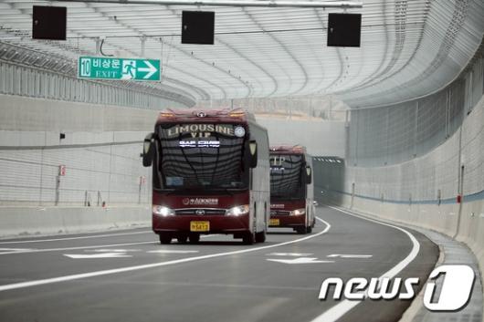 [사진]인천김포고속도로미디어 테스트 드라이빙