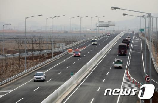 [사진]인천김포고속도로, 검단양촌나들목