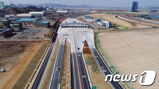 [사진]인천김포고속도로 테스트 드라이빙