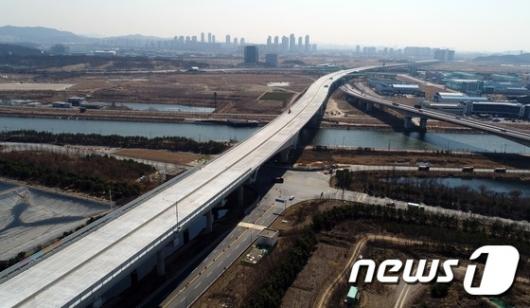 [사진]인천김포고속도로 북청라대교 구간