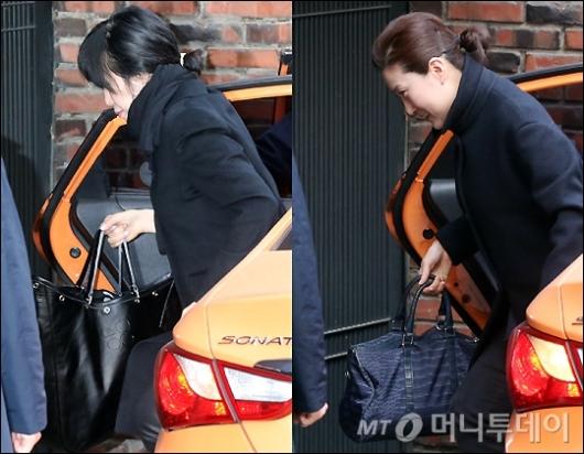 [사진]박 전 대통령 검찰 출두 앞두고 미용사 방문