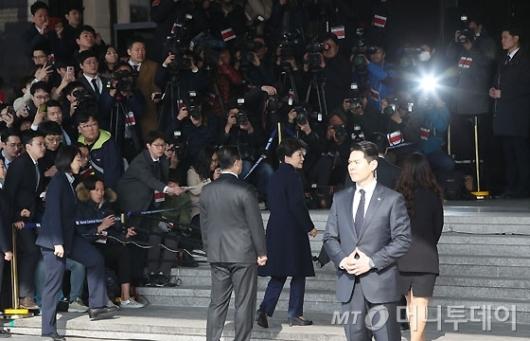 [사진]소환되는 朴 전 대통령