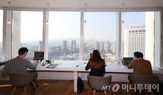 [사진]롯데월드타워 내 프라임 오피스