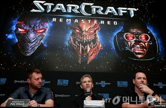 [사진]블리자드, '올여름 스타크래프트 리마스터 출시'