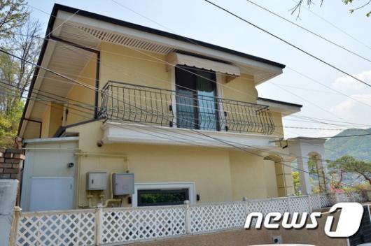 [사진]새로 구입한 박근혜 전 대통령이 내곡동 집