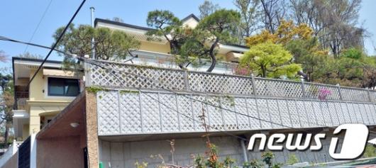 [사진]박근혜 전 대통령 내곡동에 자택 마련