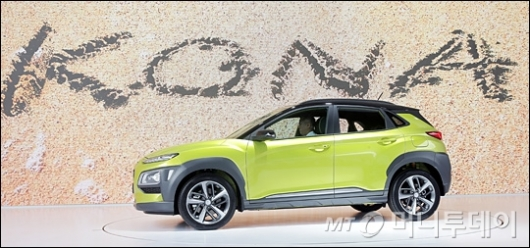 [사진]소형 SUV '코나' 늘어난 전장
