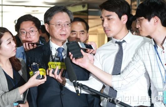 [사진]법원 출석한 우병우