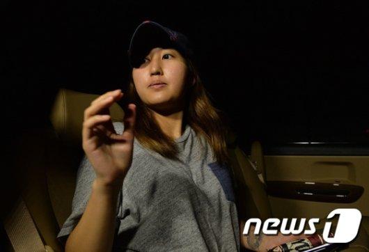 [사진]검찰 조사 마친 정유라 '그늘진 얼굴'
