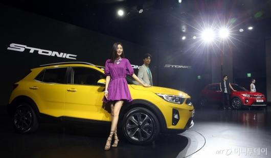 [사진]경제적인 소형 SUV '스토닉' 출시