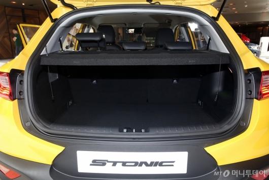 [사진]'스토닉'의 트렁크 공간