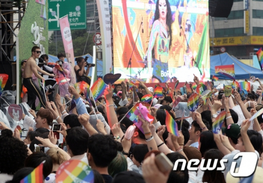 [사진]'성 소수자들의 행진' 제18회 퀴어문화축제