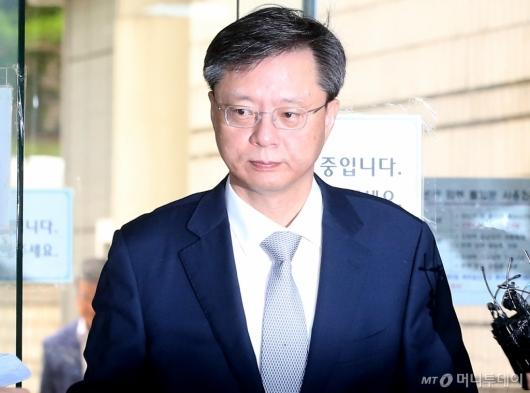 [사진]재판 출석하는 우병우 전 수석