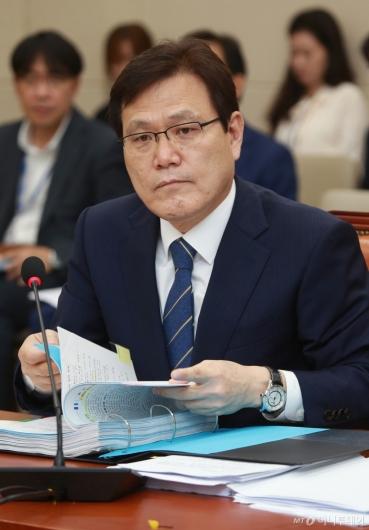 [사진]최종구 금융위원장 후보자 인사청문회