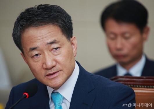 [사진]박능후 '지인 도우려 위장전입...선거법 위반 몰라'