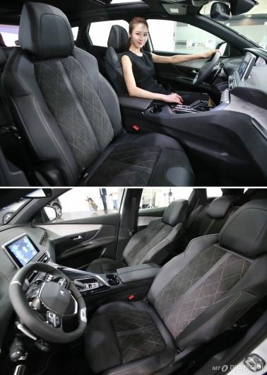 [사진]뉴 푸조 3008 SUV GT, 고급 알칸타라 가죽 소재 적용