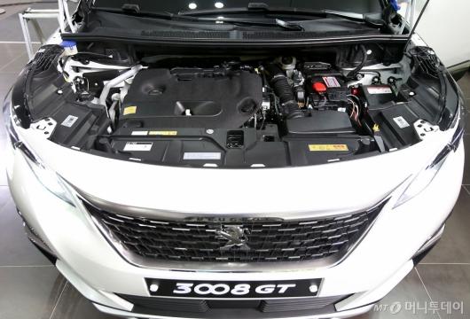 [사진]뉴 푸조 3008 SUV GT, 2.0L BlueHDi 엔진 탑재
