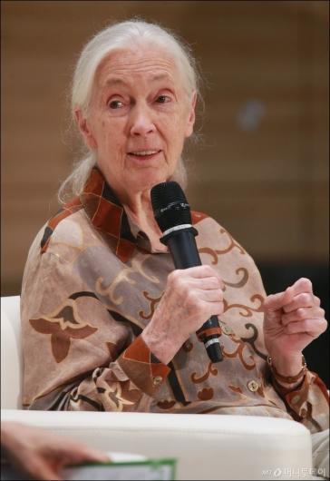 [사진]한국 찾은 '침팬지 할머니' 제인 구달 박사
