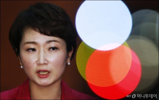 [사진]이언주 '당대표의 꿈'