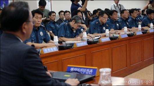 [사진]어두운 경찰 수뇌부