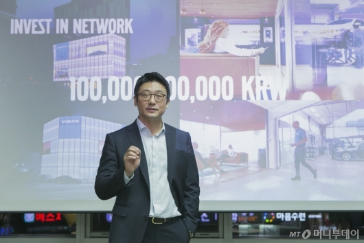 """이윤모 볼보코리아 대표 """"올해 6500대 판매, 1000억 투자할 것"""""""