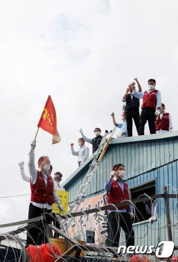 [사진]송파상운 '재개발 갈등상황 언제까지?'